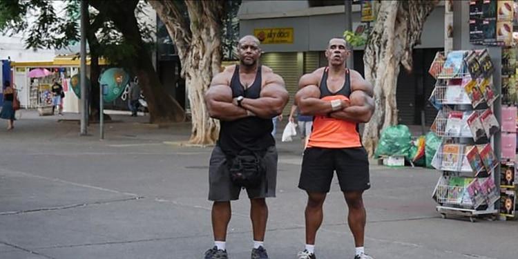 Anche i fratelli brasiliani ricorsero all'uso di Synthol, oltre agli steroidi